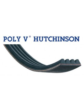 courroie poly v 1245 PJ 6 dents