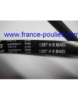 courroie poly v 8 PHE 1287