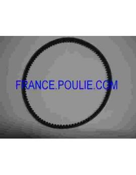 courroie trapezoidale XPZ 10X6 LR 1650 LE 1663