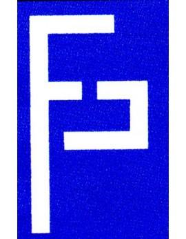 """1 courroie crantée section L largeur 0,50"""" longueur 9"""