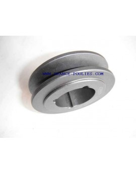 poulie fonte 1 spa Øp67 pour moyeu amovible 1108