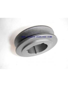 poulie fonte 1 spa Øp106 pour moyeu amovible 1610