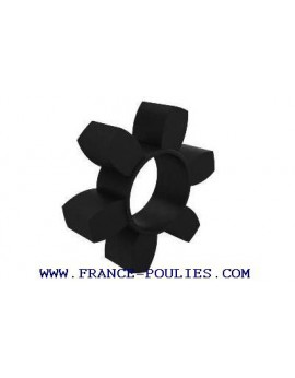 Flector élastique HRC® taille 230 NBR 80 ShA