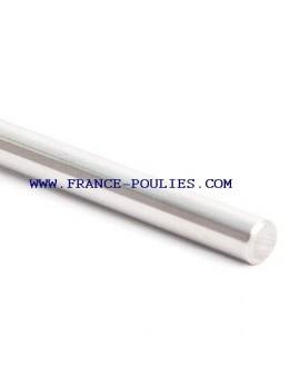 Axe en acier rectifié longueur 500mm