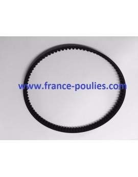 courroie powergrip ® GT3 186-3MGT3