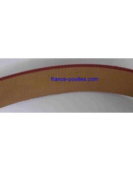 courroie plate coton caoutchouc 3 plis largeur 80