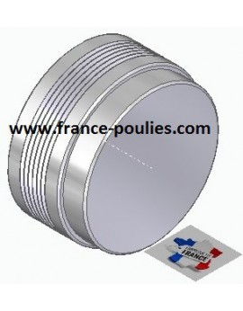 POULIE POLY-V ALU Øext 80 PJ 6 DENTS