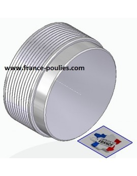 POULIE POLY-V ALU Øex71 PJ 10 DENTS