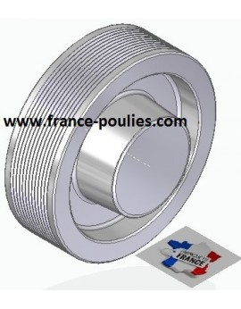POULIE POLY-V ALU Øext 125 PJ 12 DENTS
