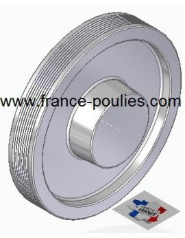 POULIE POLY-V ALU Øext 160 PJ 8 DENTS