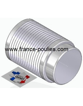 POULIE POLY-V ALU Øext63 PJ 16 DENTS