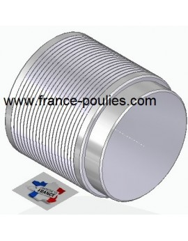 POULIE POLY-V ALU Øex71 PJ 20 DENTS