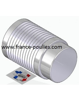 POULIE POLY-V ALU Øext 31.5 PJ 12 DENTS