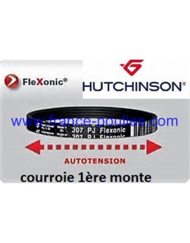 courroie poly v 307 pj 4 dents flexonic Hutchinson