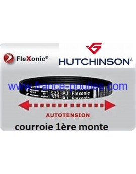 courroie poly v 523 pj 8 dents flexonic Hutchinson