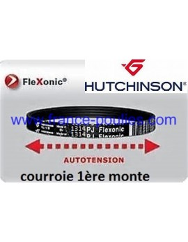 courroie poly v 1314 pj 10 dents flexonic