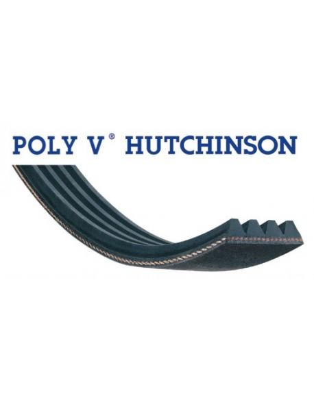 courroie poly v 1201 PJE 6 dents